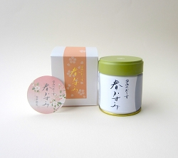 HARUKASUMI (early March to late April) seasonal matcha